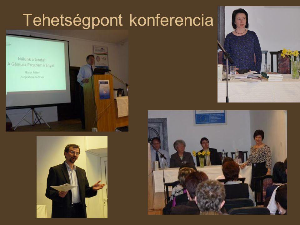 Tehetségpont konferencia