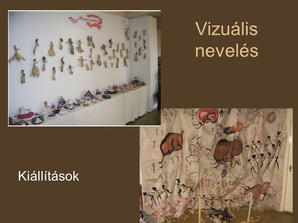 Vizuális nevelés Kiállítások