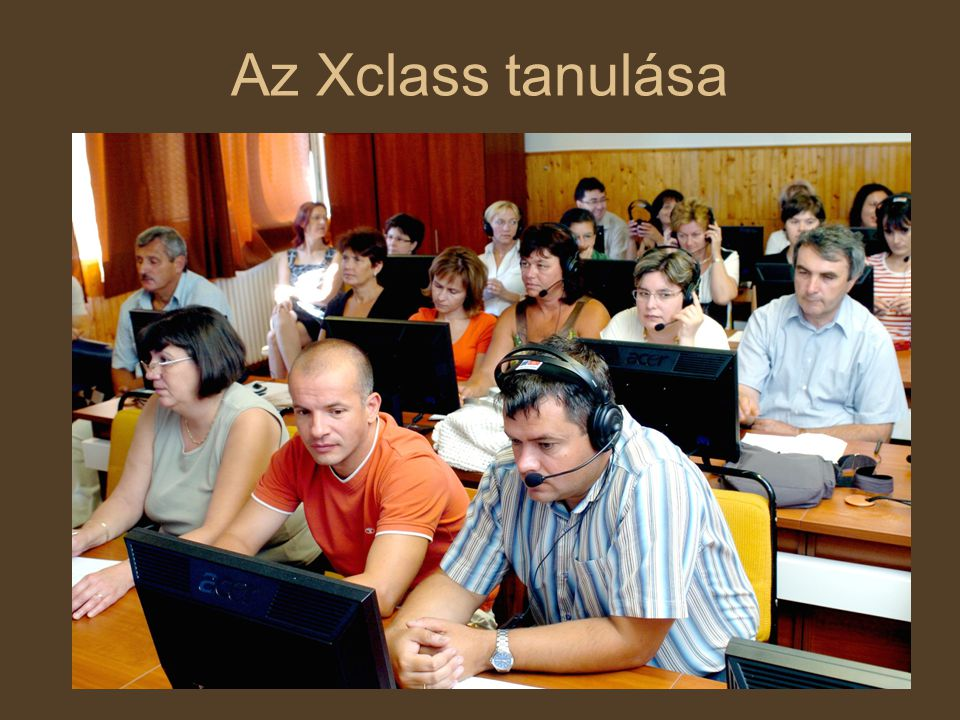 Az Xclass tanulása