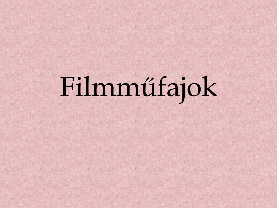 Filmműfajok