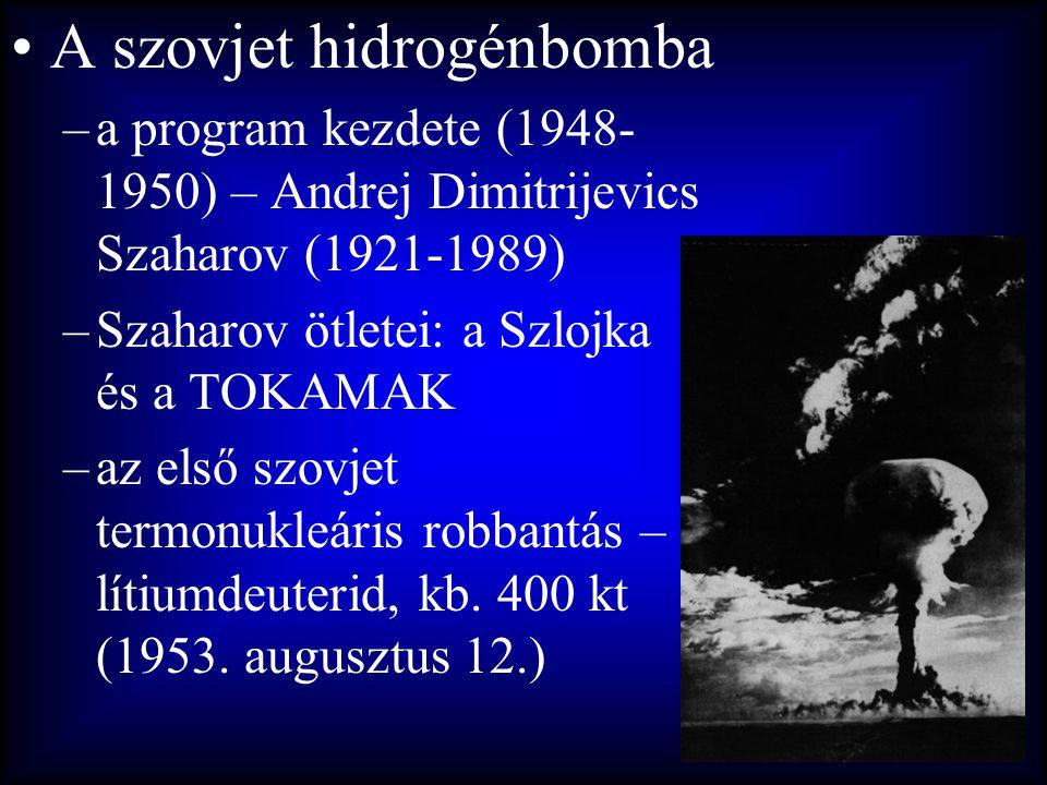 A szovjet hidrogénbomba