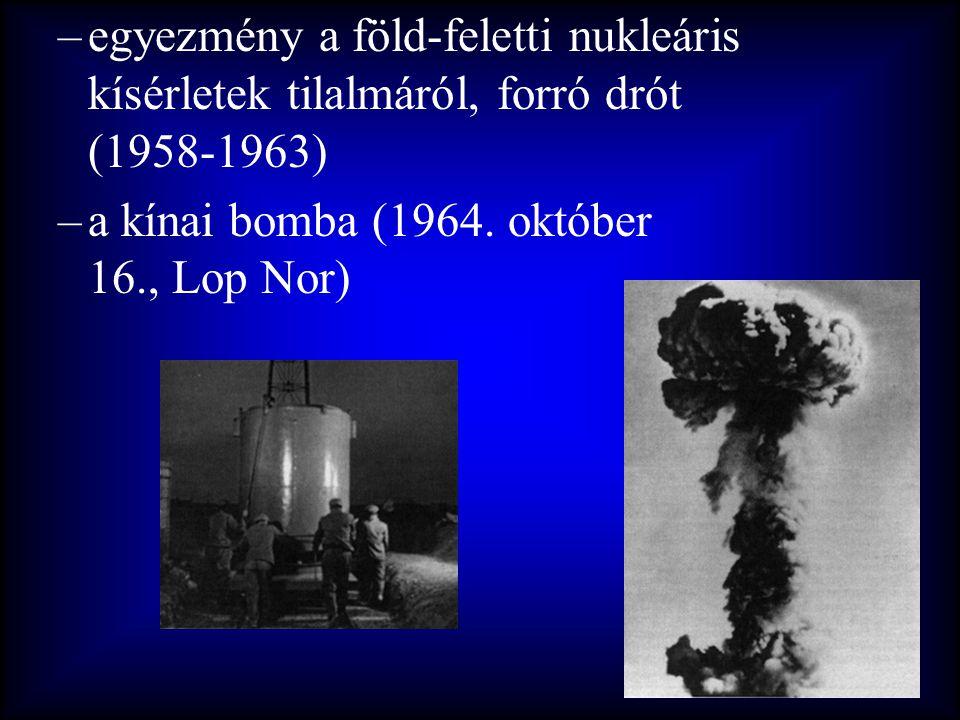 egyezmény a föld-feletti nukleáris kísérletek tilalmáról, forró drót (1958-1963)