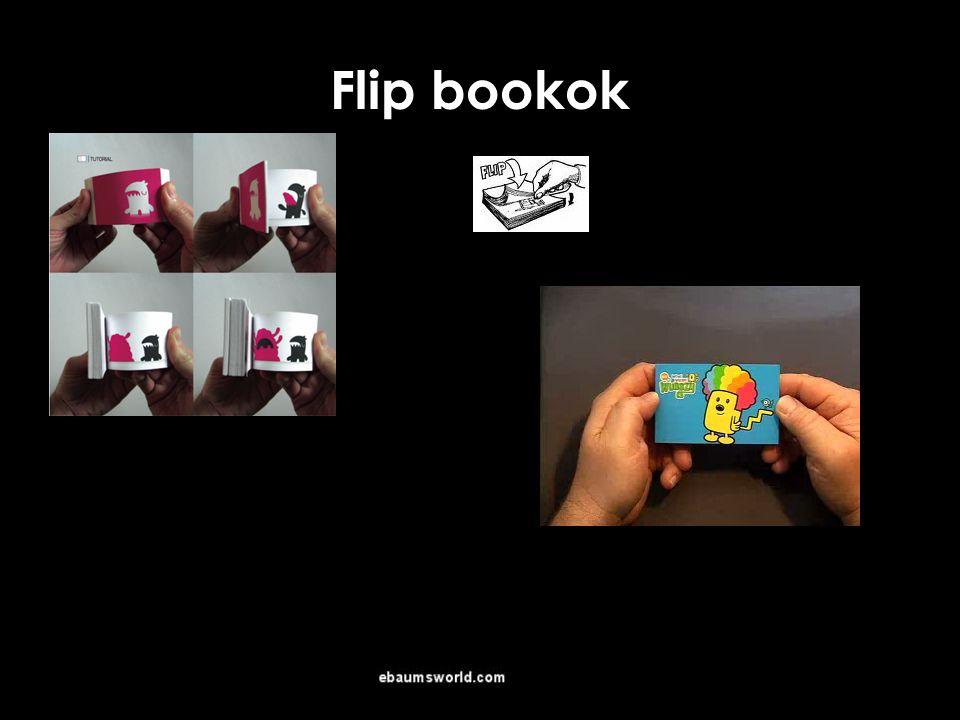 Flip bookok 3-4 éves kortól alkalmazható