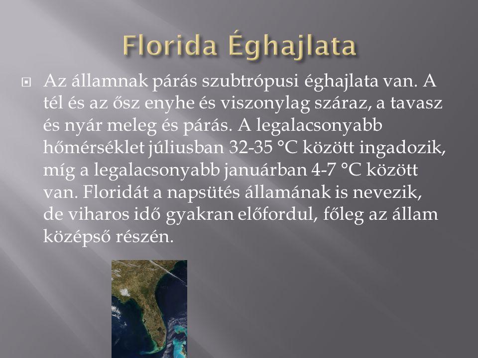 Florida Éghajlata