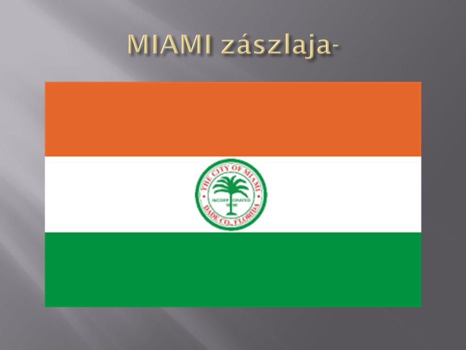 MIAMI zászlaja-