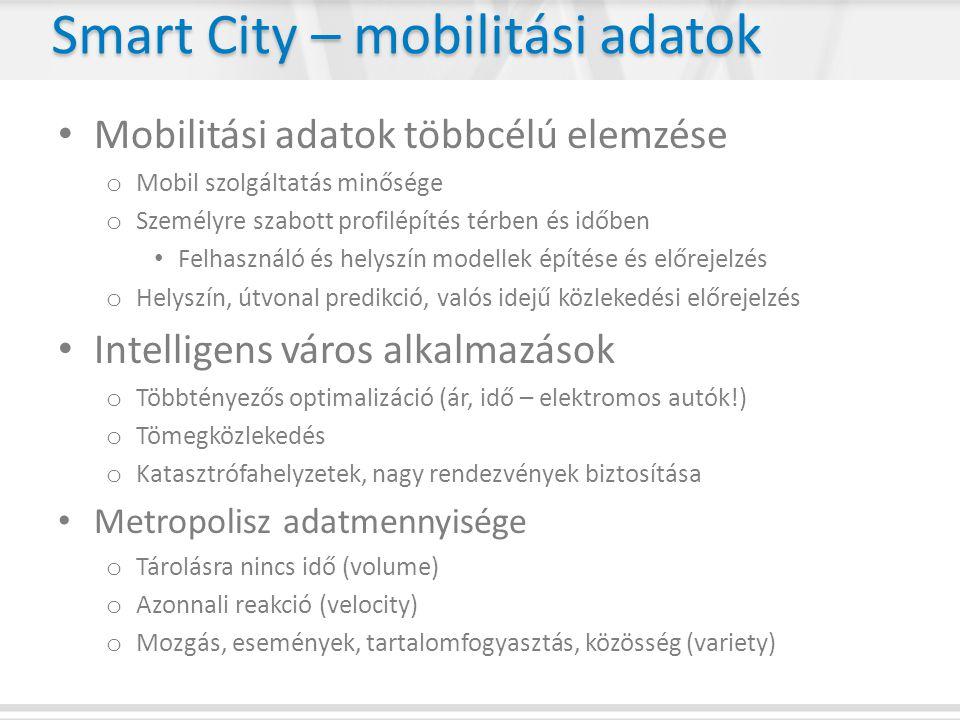 Smart City – mobilitási adatok