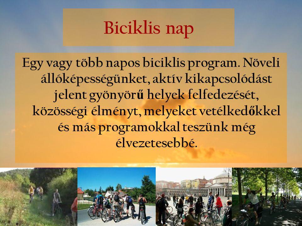 Biciklis nap