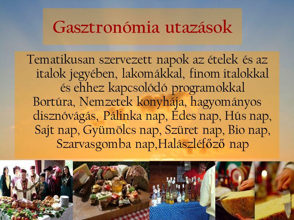 Gasztronómia utazások
