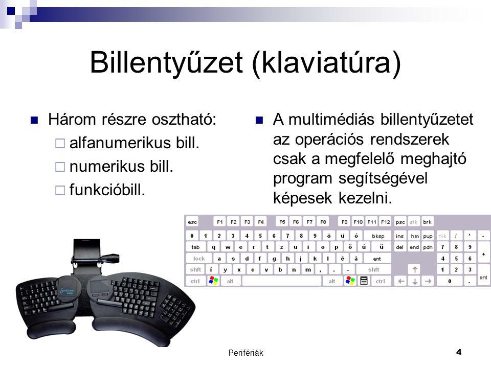 Billentyűzet (klaviatúra)