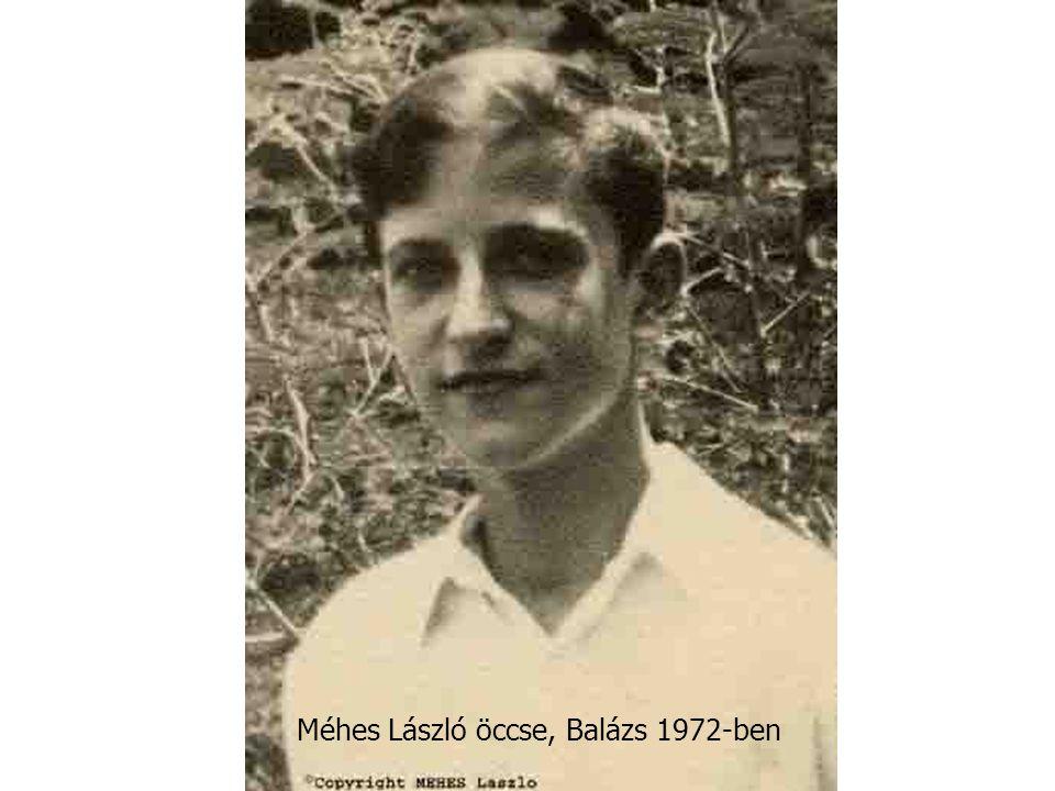 Méhes László öccse, Balázs 1972-ben