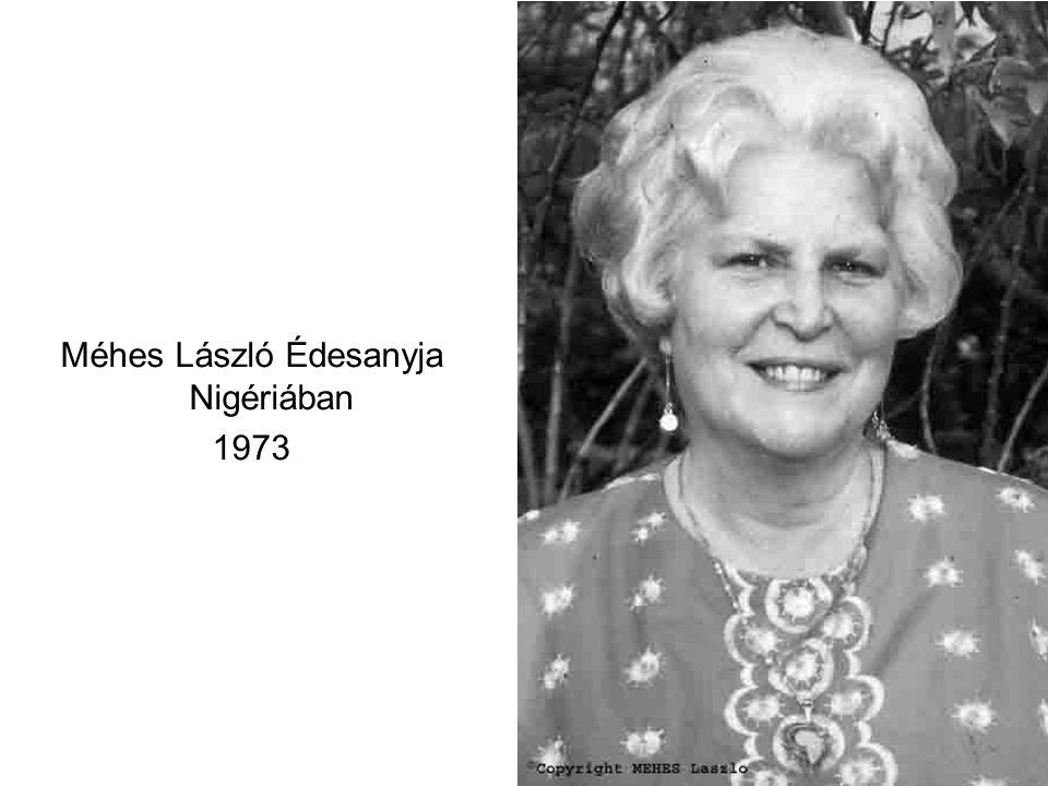 Méhes László Édesanyja Nigériában