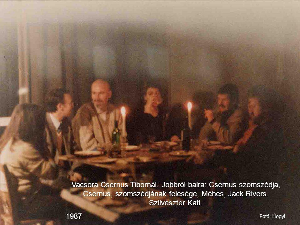 Vacsora Csernus Tibornál