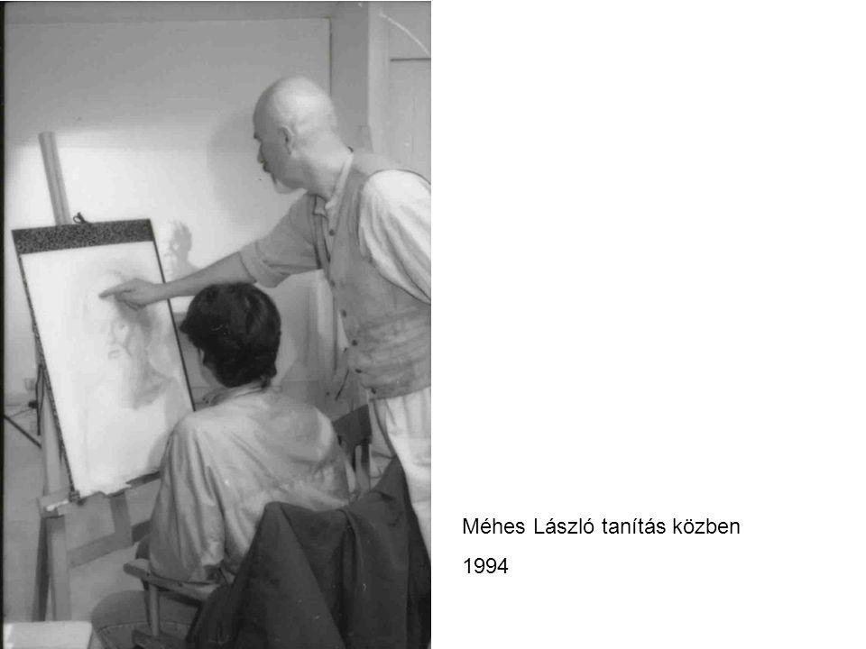 Méhes László tanítás közben