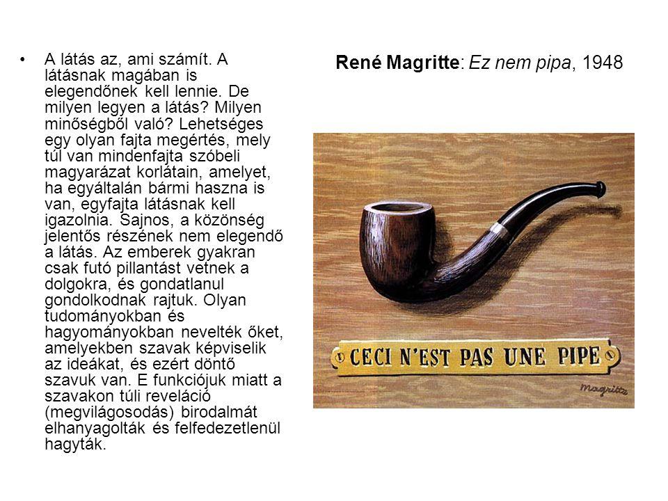 René Magritte: Ez nem pipa, 1948