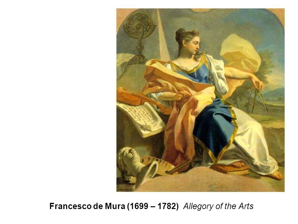 Francesco de Mura (1699 – 1782) Allegory of the Arts