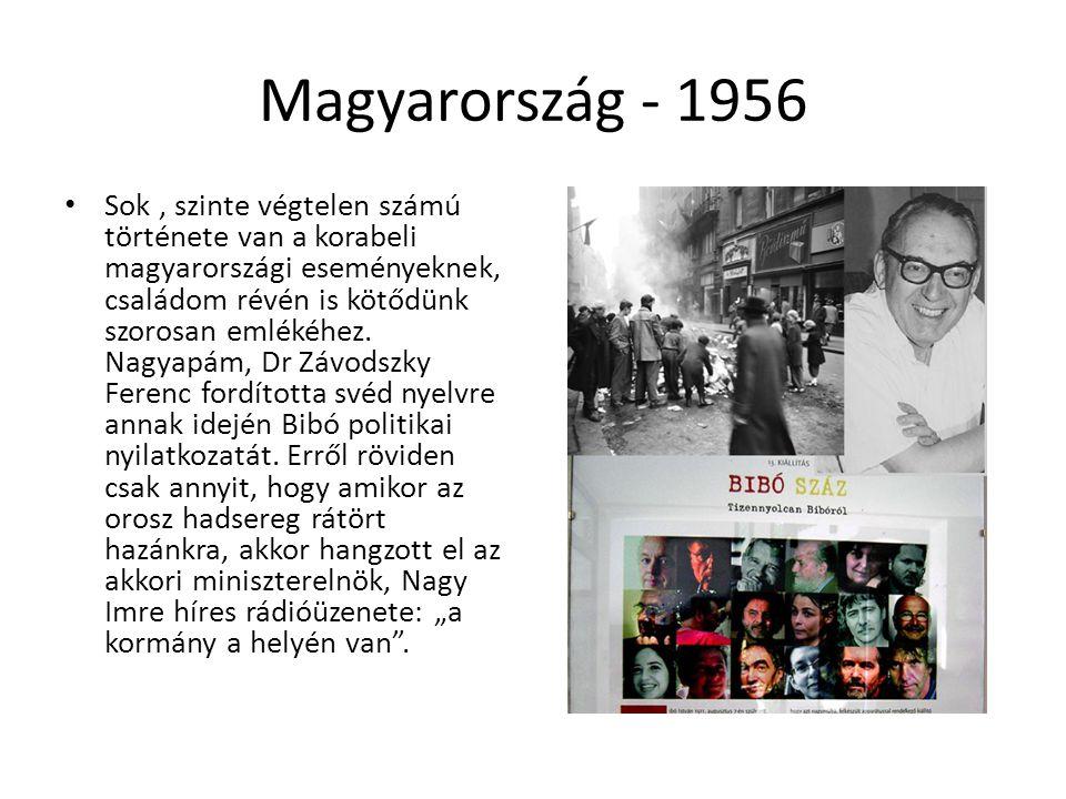 Magyarország - 1956