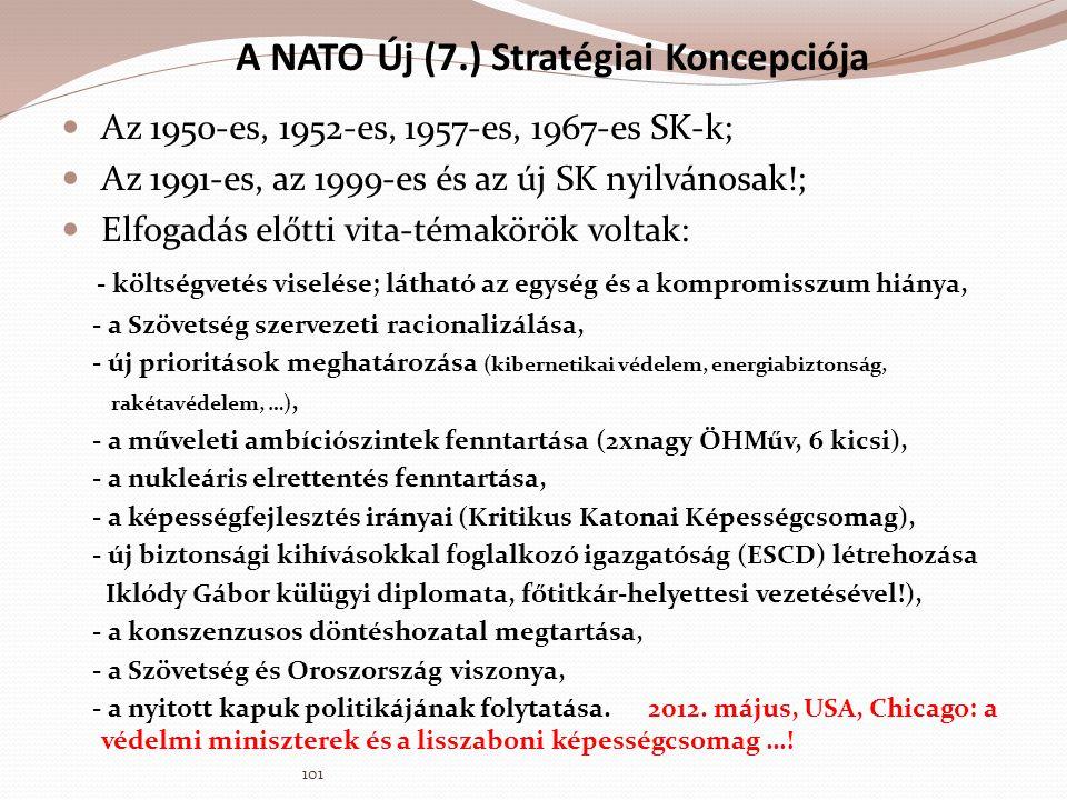 A NATO Új (7.) Stratégiai Koncepciója