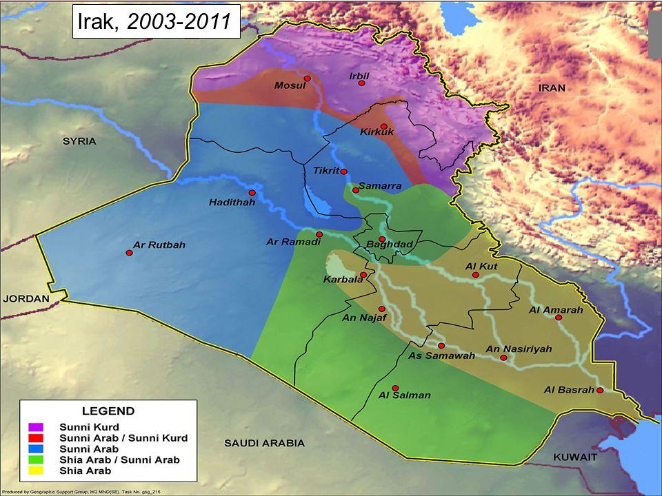 Irak, 2003-2011
