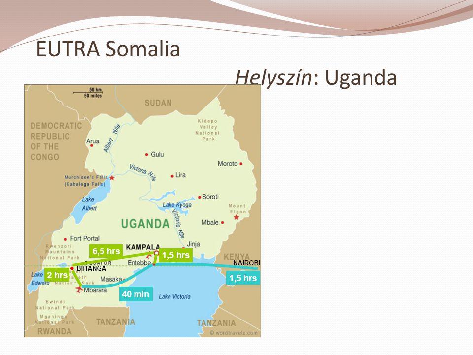 EUTRA Somalia Helyszín: Uganda