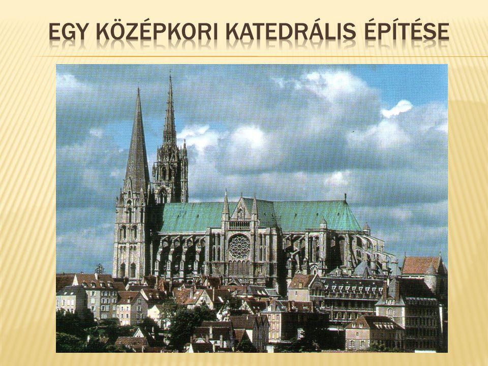 Egy középkori katedrális építése