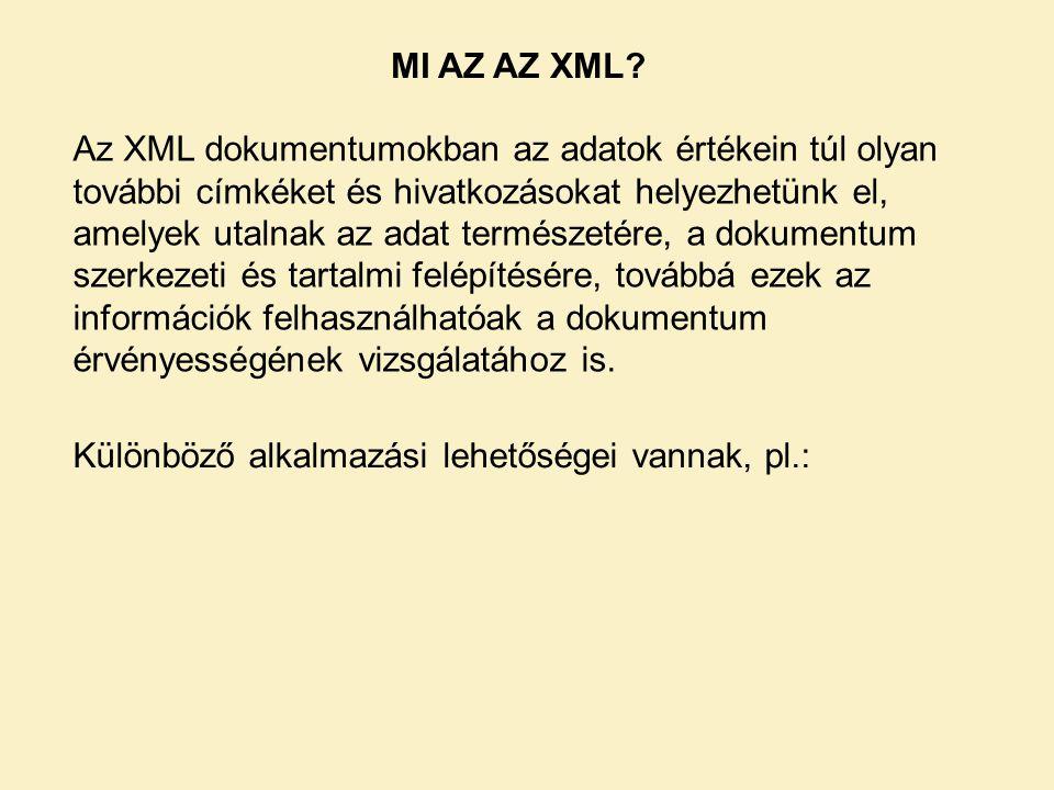 MI AZ AZ XML