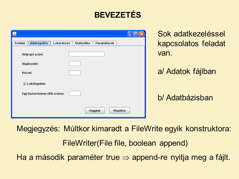 FileWriter(File file, boolean append)