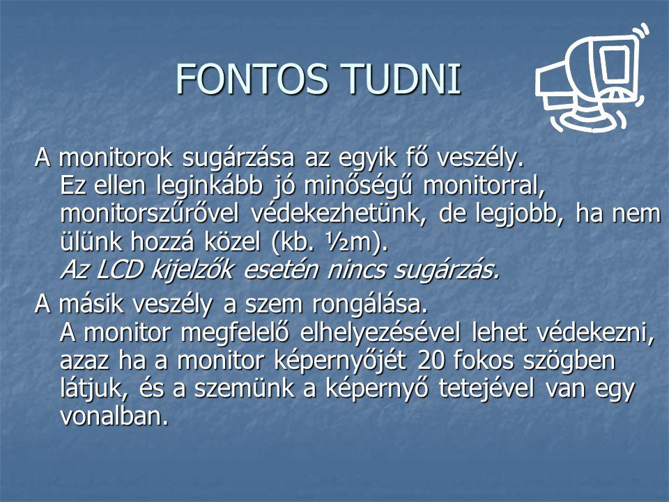 FONTOS TUDNI