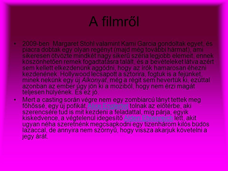 A filmről