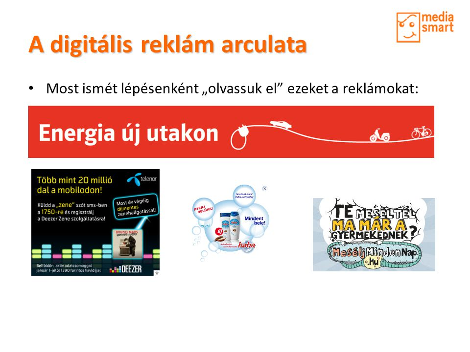 A digitális reklám arculata