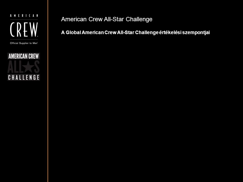 American Crew All-Star Challenge