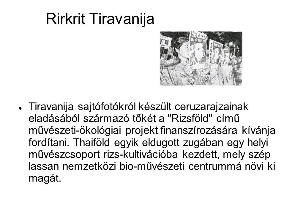 Rirkrit Tiravanija