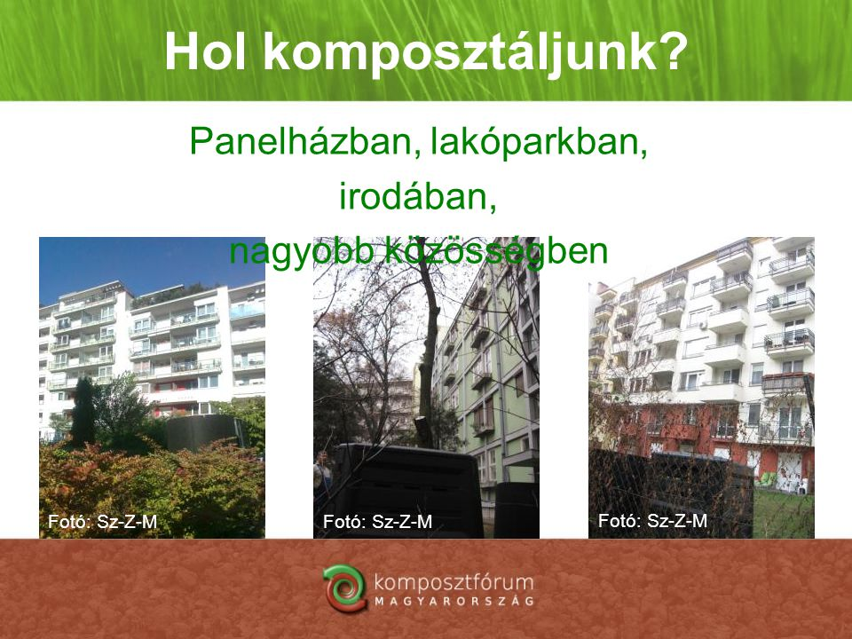 Panelházban, lakóparkban, irodában, nagyobb közösségben