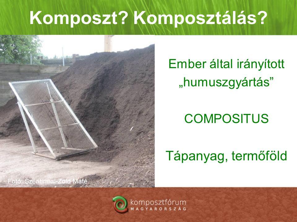 Komposzt Komposztálás