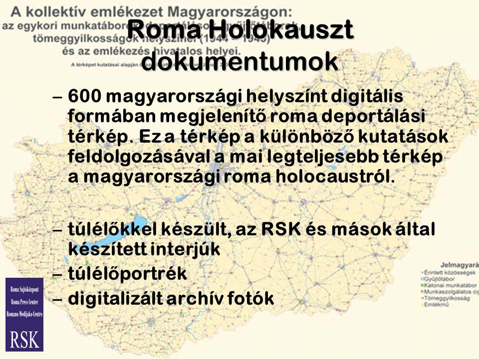Roma Holokauszt dokumentumok