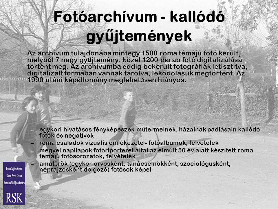 Fotóarchívum - kallódó gyűjtemények