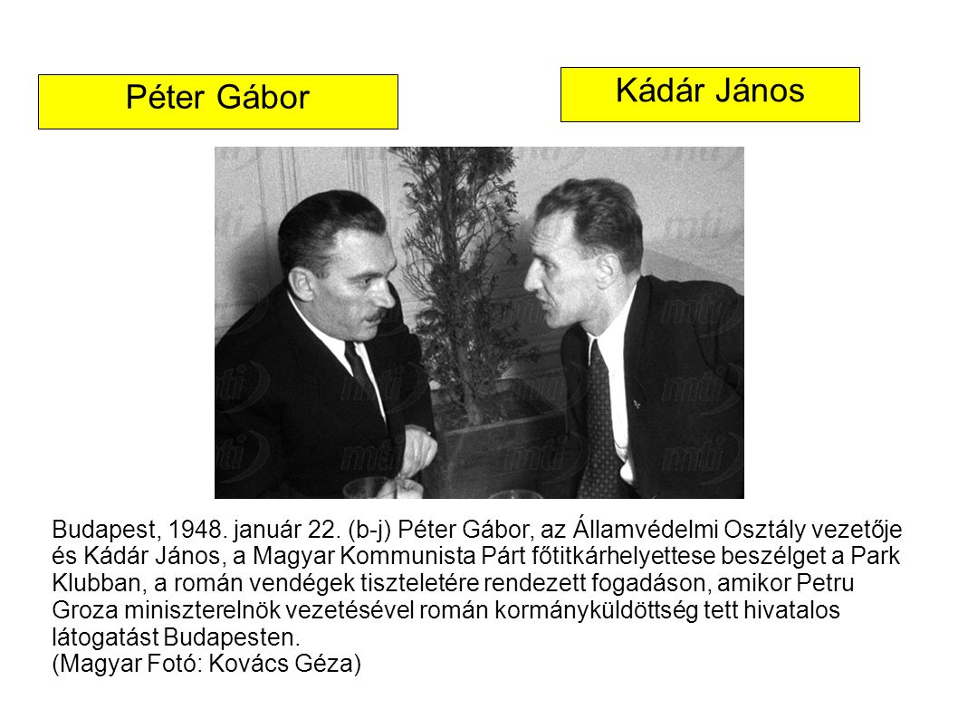 Kádár János Péter Gábor