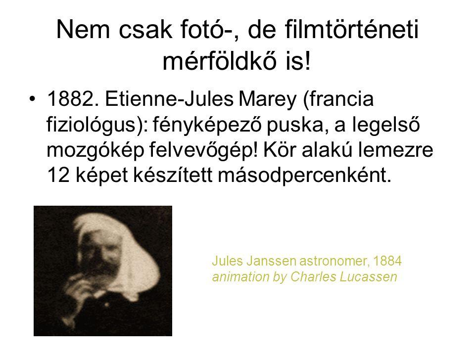 Nem csak fotó-, de filmtörténeti mérföldkő is!