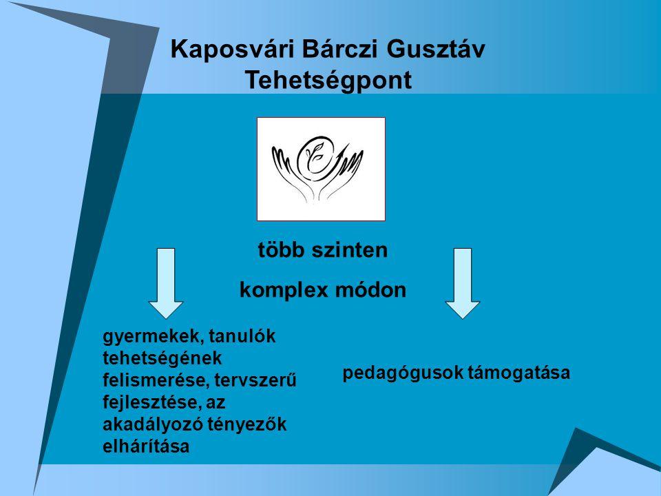 Kaposvári Bárczi Gusztáv Tehetségpont