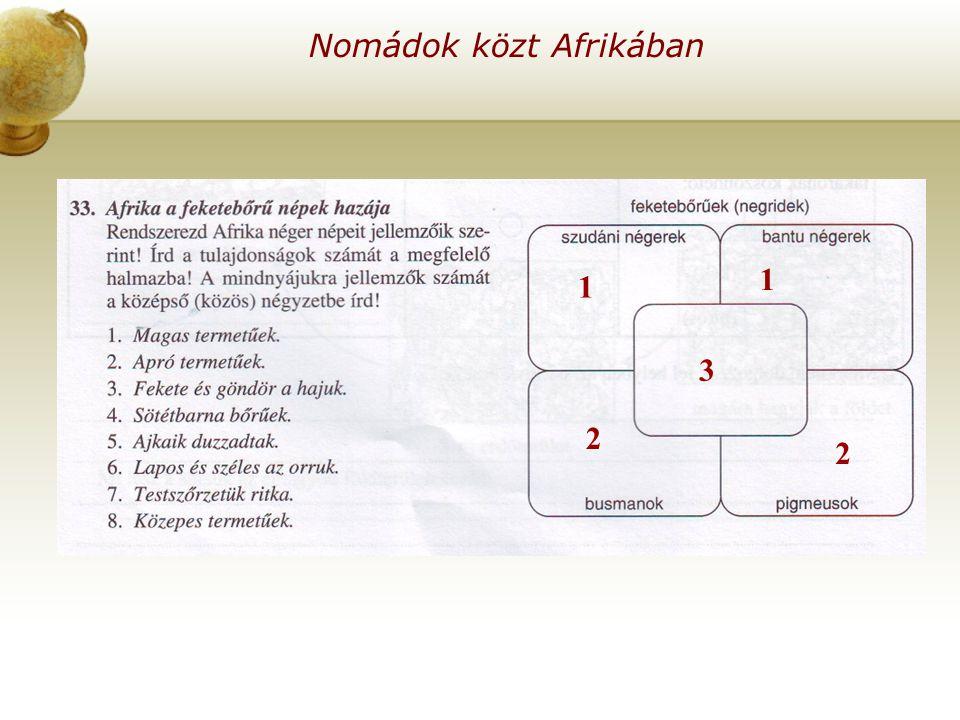 Nomádok közt Afrikában