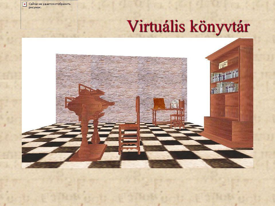 Virtuális könyvtár