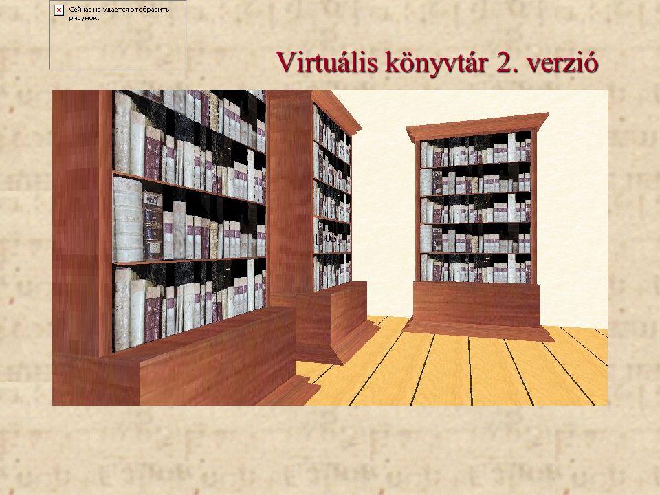 Virtuális könyvtár 2. verzió