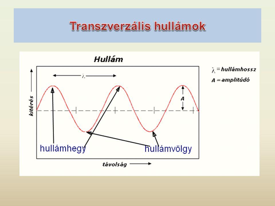 Transzverzális hullámok