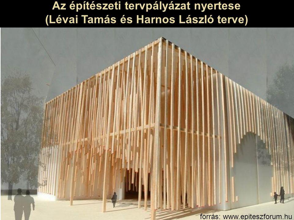 Az építészeti tervpályázat nyertese