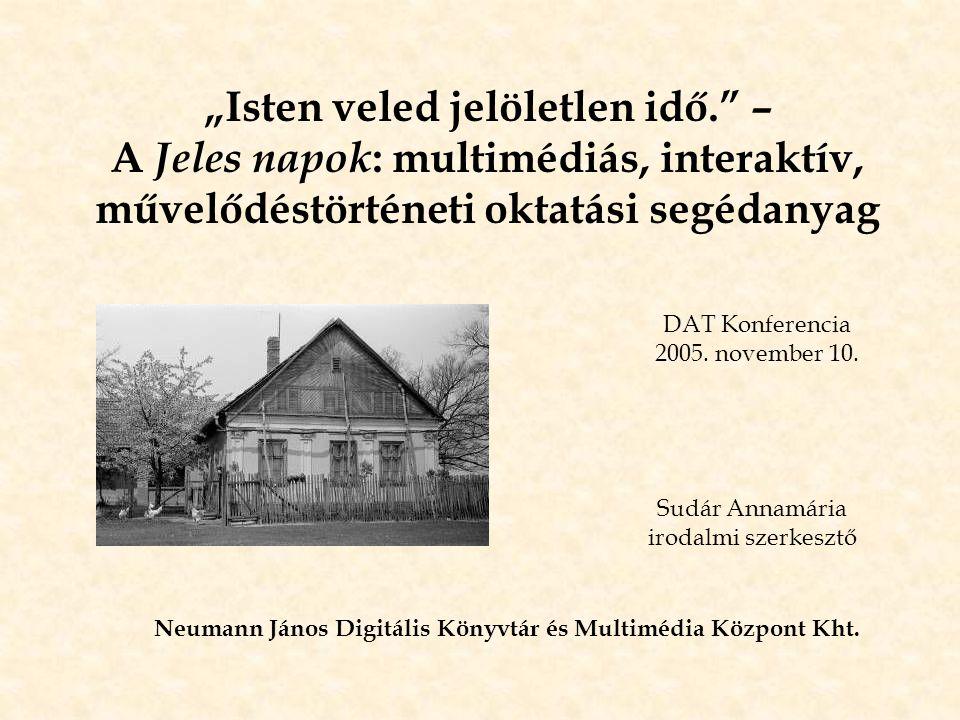 Neumann János Digitális Könyvtár és Multimédia Központ Kht.