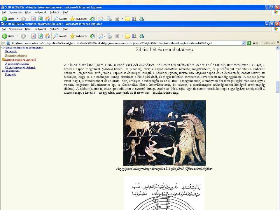 A TARTALOM A pályázati támogatásból újonnan digitalizált szövegek
