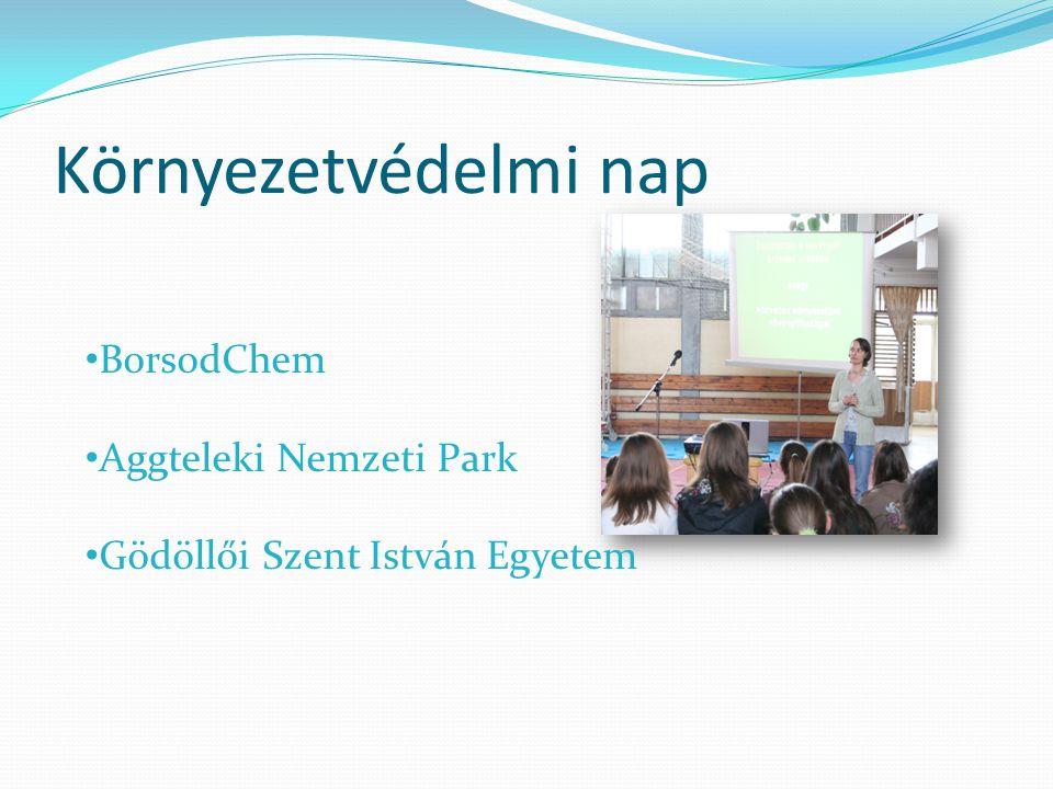 Környezetvédelmi nap BorsodChem Aggteleki Nemzeti Park