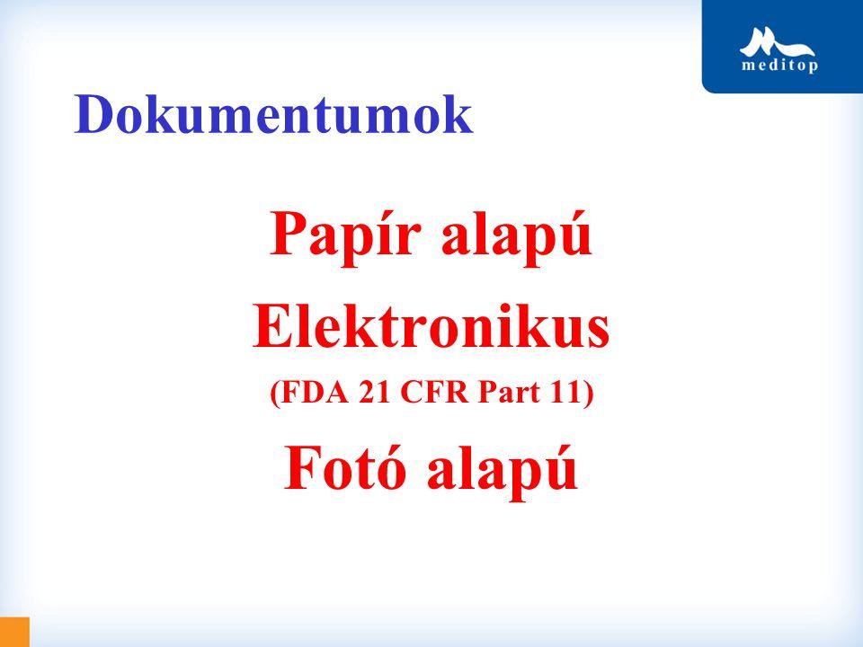 Papír alapú Elektronikus Fotó alapú