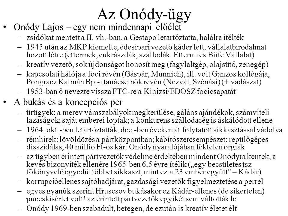 Az Onódy-ügy Onódy Lajos – egy nem mindennapi előélet