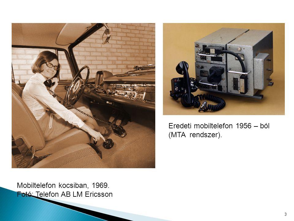 Eredeti mobiltelefon 1956 – ból