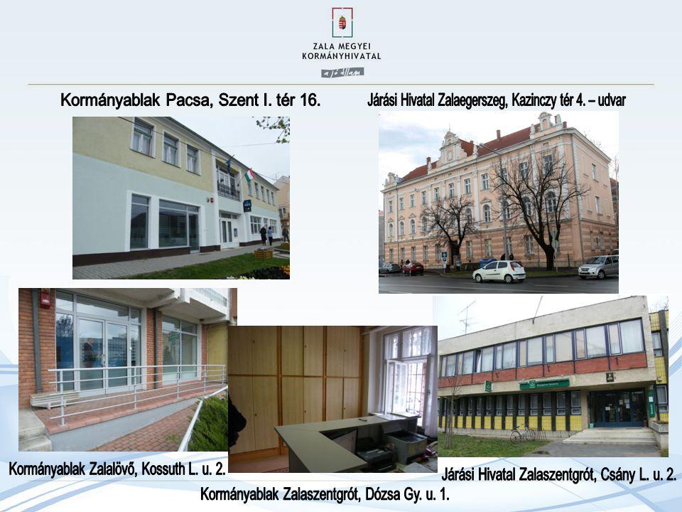 Kormányablak Pacsa, Szent I. tér 16.